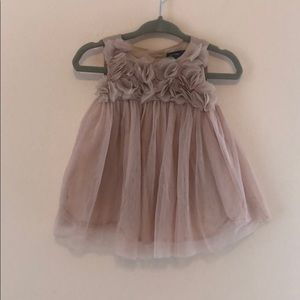 NWOT Baby GAP Blush Tulle Dress